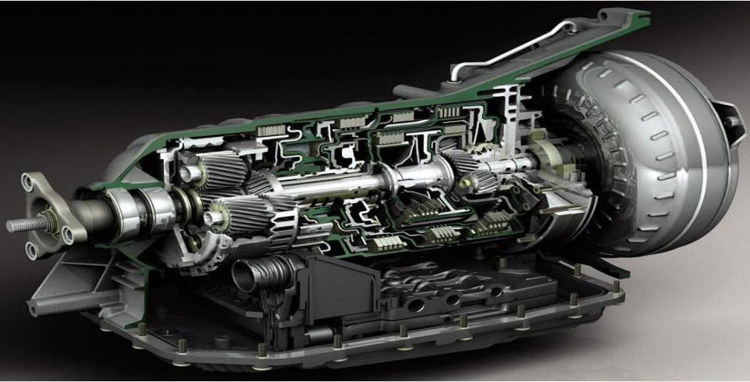 自动变速箱结构图-科润机油